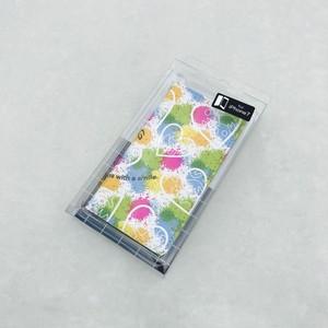 【iPhone7 】ベルト無し 手帳型ケース -カラフル-