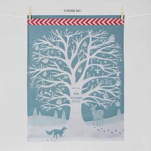 ティータオル  クリスマスツリー