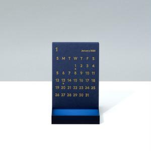 'CLARA' Desk Calendar 2020 Navy