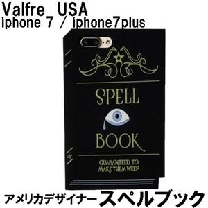 Valfre ヴァルフェー SPELL BOOK 3D IPHONE 7 7plus CASE ケース サイズお選びください シリコン 正規輸入品