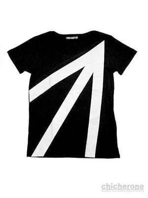 【ARHBK】ARROW TEE Ladies BLACK
