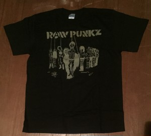 RAW PUNKZ - SHIRTS (black)