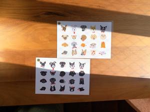 DOG集合ポストカード 2種