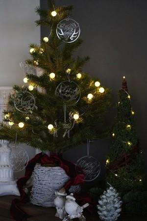 Acrylic Christmas Ornaments  7piece set / クリスマス オーナメント