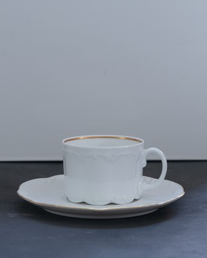 Rosenthal  Classic Rose MONBIJOU WHITE  カップ&ソーサー 2客セット