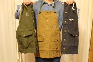 LAND & B.C. / Hunt apron