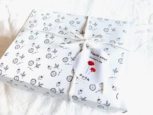 【Mother's Month Gift-box】5月限定 白磁マグ・八宝茶&ドライフルーツブレンド茶3種セット
