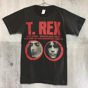 【送料無料 / ロック バンド Tシャツ】 T. REX / Men's Ladies' Unisex T-shirts  Charcoal S M T・レックス / メンズ レディース ユニセックス Tシャツ チャコール S M