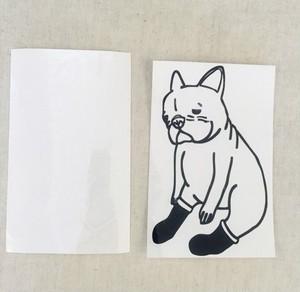 転写シート 長靴を履かされた犬