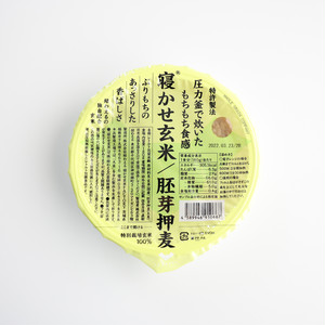 【サステナブル】寝かせ玄米ご飯パック 胚芽押麦ブレンド 180g