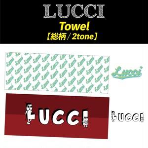 LUCCI  Towel 総柄 / 2tone