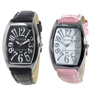 ペアウォッチ フランク三浦 腕時計 メンズ レディース インターネッツ別注 クォーツ ブラック ホワイト fm00it-bk fm00it-svpk