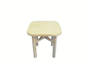 折りたたみ木製テーブル -無塗装-