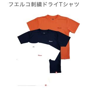 フエルコ 刺繍ドライTシャツ