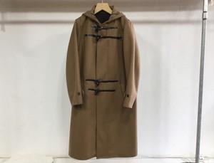 "semoh""wool/cashmere melton duffle coat camel"""