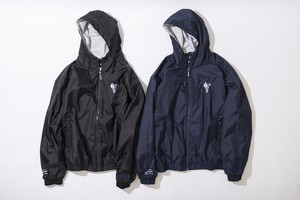 ZIP UP NYLON HOODY JKT