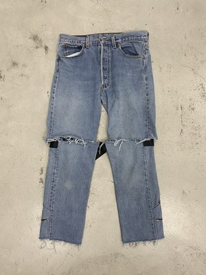OLDPARK / KAILI 2WAY JEANS(BLUE,Mサイズ)