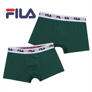 【FILA】フィラ プレーン グリーン アンダーウェア セレクト♪ / メンズ 無地 ボクサー パンツ