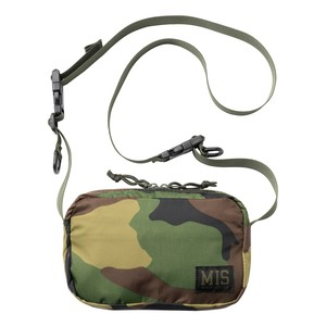 MIS1027P SHOULDER BAG PACKCLOTH_WOODLAND CAMO【オンライン限定】