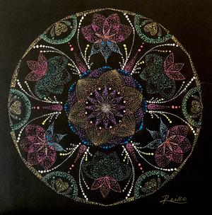 曼荼羅アートNo.20 「パラダイス」