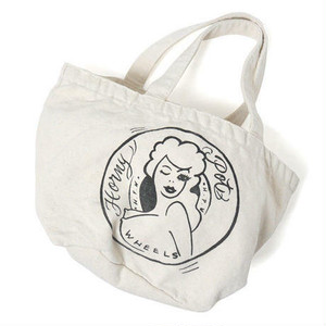 "HAIGHT(ヘイト)""HONEY POT WASHED SMALL TOTE BAG ft 4D7S ""[NATURAL]"