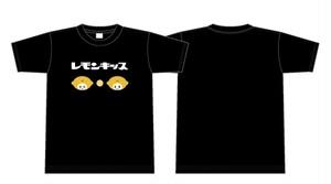 レモンキッスオリジナルTシャツ/レモンちゃん(黒)
