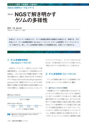 2017年7月発行号/ハイエンド研究・分析装置への招待状/石井 一夫 氏