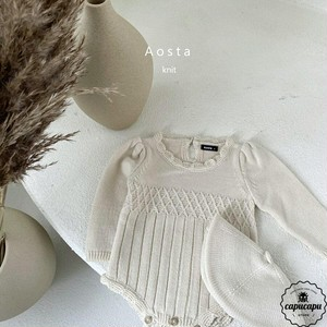 «sold out»«bebe» Ricoco knit suit  ベビーニットボディスーツ