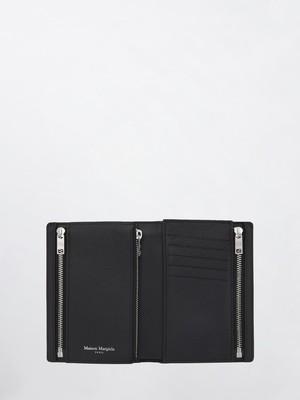 MAISON MARGIELA Passport Wallet(P0399) Black S35UI0430
