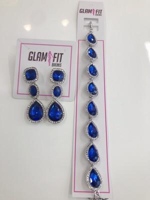 pierce*bracelet set -Blue-