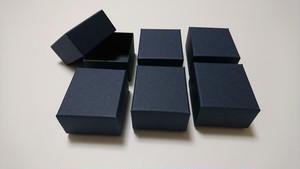 紙箱/超極小なギフトボックス(インディゴ・藍)6個入