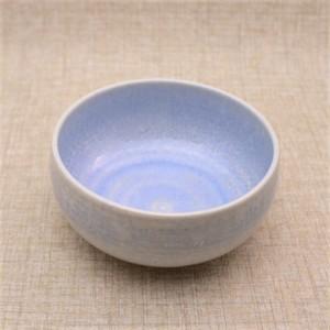 結晶釉中鉢 [Aqua]