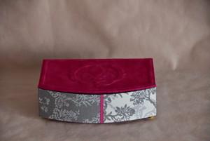 【カルトナージュ】大人気♪フランス製マリーアントワネット使用 ジュエリーケース ピンク