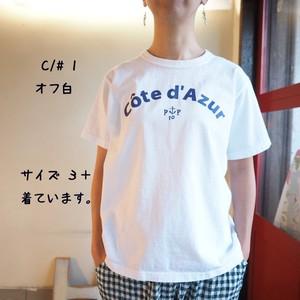 20周年記念リバイバルロゴ Tシャツ UNI A柄 コート・ダ・ジュール   12C47G サイズ2 サイズ3+