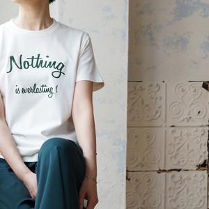 刺繍メッセージ・Tシャツ *Liyoca(リヨカ)
