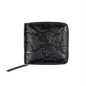 RIPNDIP - Jerm Camo Zip Wallet (Blackout Camo)