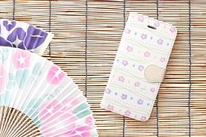 夏まつり 〜あさがお〜 iPhone&Android手帳型ケース ★受注制作★