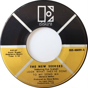 New Seekers, The – Look What They've Done To My Song Ma / It's A Beautiful Day
