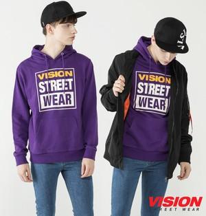 VISION STREET WEARマグロゴプリントパーカー【8323139】