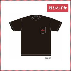 OSAKA DIME オリジナルポケットTシャツ BLACK