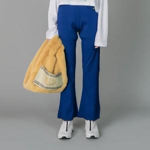 NON TOKYO : RIB FLARE PANTS(BLUE)