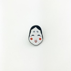 "Metadope""OKAME LAPEL PIN"""