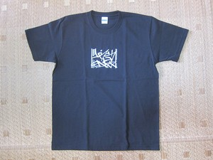 Priority Mail Tee  Black/ White