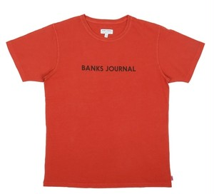 BANKS JOURNAL (バンクスジャーナル) LABEL  Tシャツ ATS0368  BURNT ORANGE