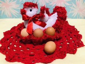 SOLBONITO ニワトリの卵入れ
