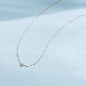 Pleine Lune -Necklace-◇K18YG×Diamond 0.06ct