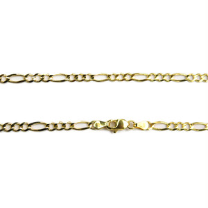 "14K 4mm 22"" Figaro Chain(22インチ)"