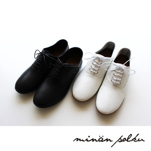 【minan polku】M329 Soft balmoral shoes