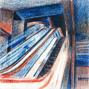 赤青鉛筆ドローイング 58