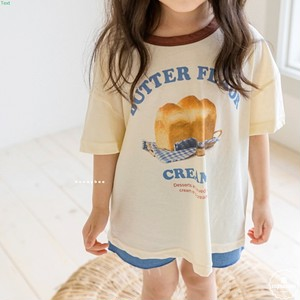 «sold out»«ジュニアサイズあり» Loaf bread T-shirt 2colors 食パンTシャツ